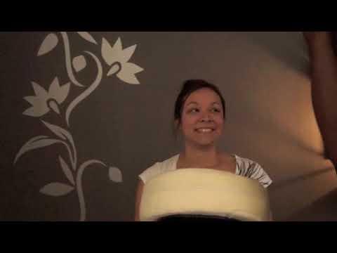 Full chair massage routine