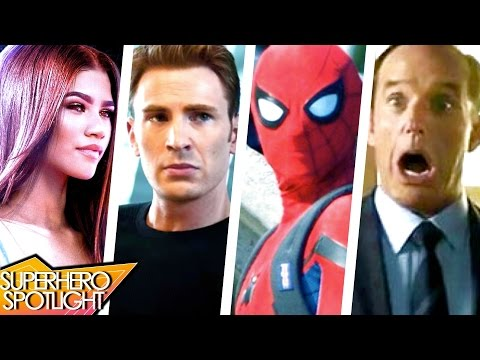 Captain America on TV & Secret Avengers Theory? Coulson in MCU? // Superhero Spotlight Podcast