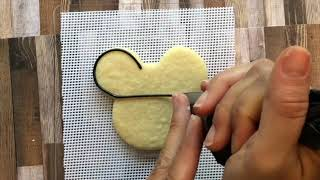 Halloween mickey mouse cookie tutorial