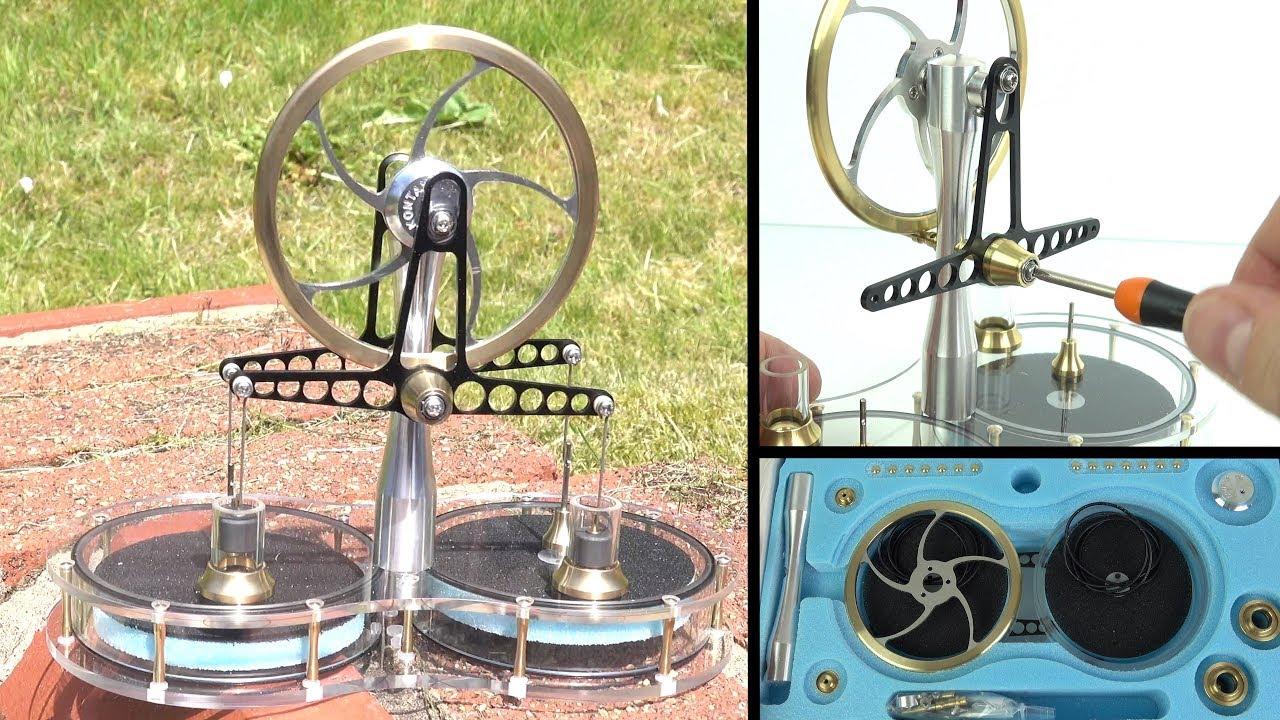 Techmoan - Techmoan - Kontax Stirling Engine Kit