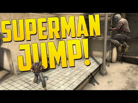 SUPERMAN BOOST JUMP! - CS:GO Funny Moments in Competitive (Strat Roulette)
