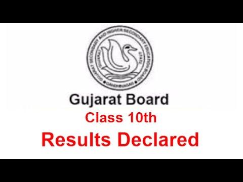 Gujarat Board Class 10 Results Declared