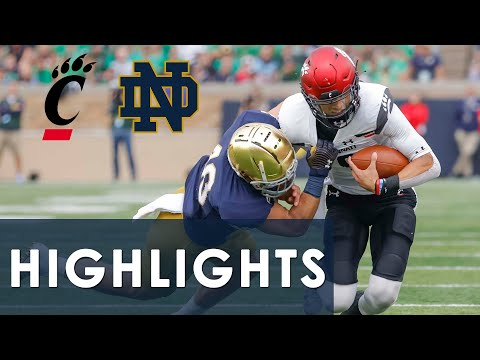 Cincinnati vs. Notre Dame | EXTENDED HIGHLIGHTS | 10/2/2021 | NBC Sports