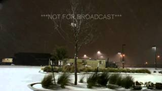 12-27-15 Lubbock, TX Blizzard Conditions