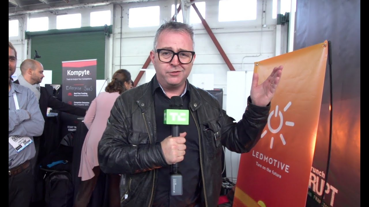 Ukraine Pavillion in Startup Alley at Disrupt SF 2016 with Mike ...