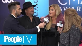 Garth Brooks And Trisha Yearwood Discuss His New Song That She