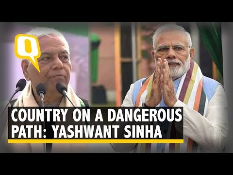 Yashwant Sinha at Mamata Banerjee's Mega Opposition Rally: 'Want One Umeedwaar Against BJP