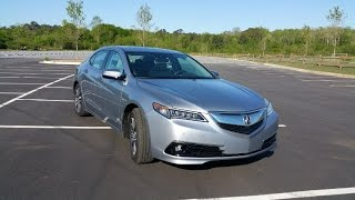 2015 Acura TLX SH-AWD Advance Review - Is Acura's Swagger Back?