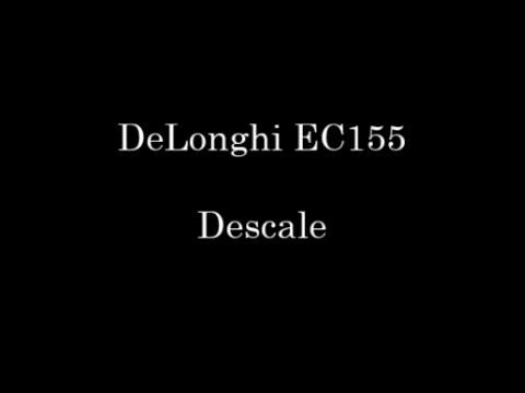 DeLonghi EC155 Descale