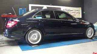 Reprogrammation moteur Mercedes c220 cdi 170cv @ 221cv dyno digiservices