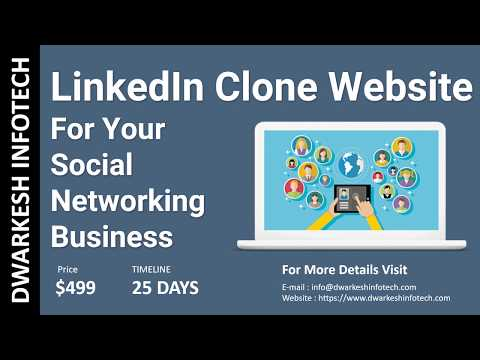 linkedin-clone-website---a-social-network-business-|-create-your-own-social-networking-sites-in-2018