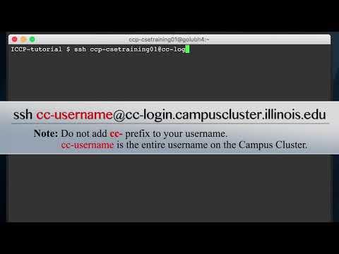 Illinois Campus Cluster HPC Videos  - Lesson 2