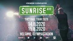 Sunrise Avenue & Friends -lisäkonsertti nähdään Helsingin Olympiastadionilla perjantaina 14.8.2020!