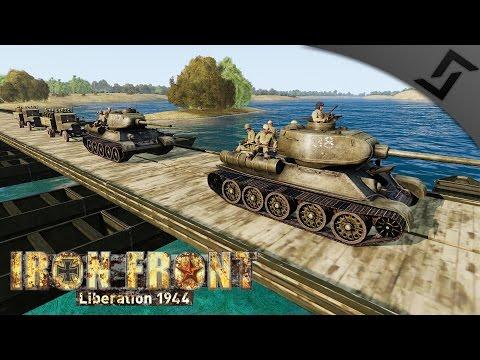 T-34-85 Gunner vs Tiger Ambush - ARMA 3 Iron Front WW2 Mod - Soviet Tanker Gameplay