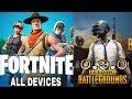 Finally FortNite And Pubg 0.9.0 Available For All Android Devices | New Map | New Gun | New Cars