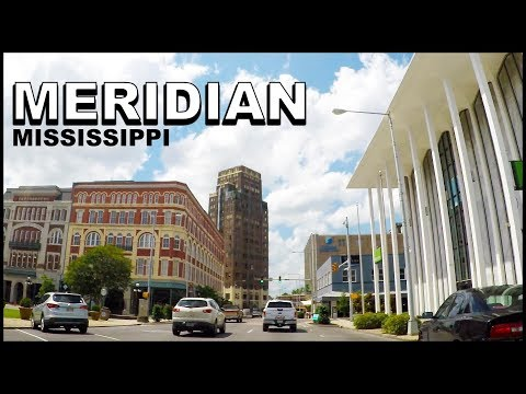 Meridian Mississippi Downtown Tour