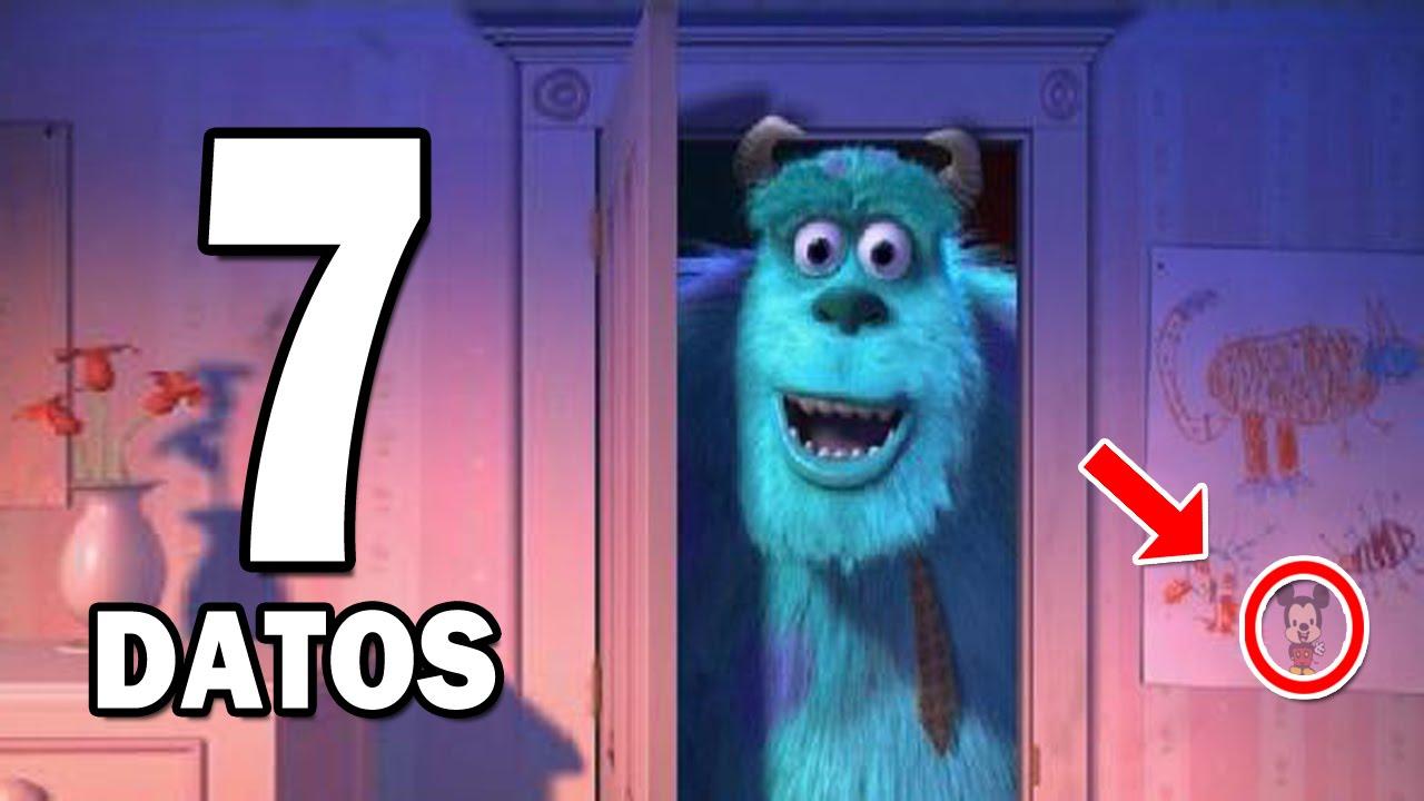 7 Curiosidades Sobre Monsters Inc Youtube