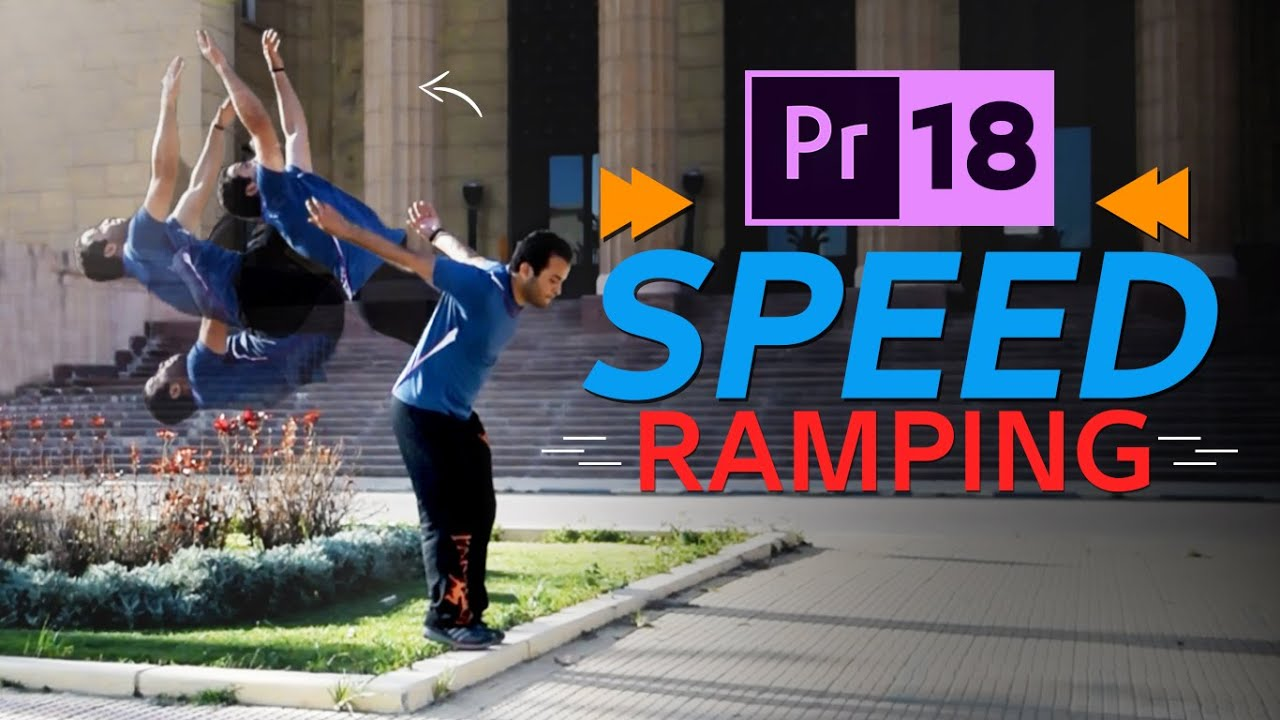18 - تسريع وتبطيئ وعكس الفيديو - Slow / Fast motion & Reverse Speed in Premiere Pro