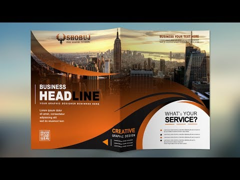 How To Create A Professional Brochure In Photoshop
