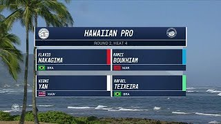 2017 Hawaiian Pro: Round Two, Heat 4