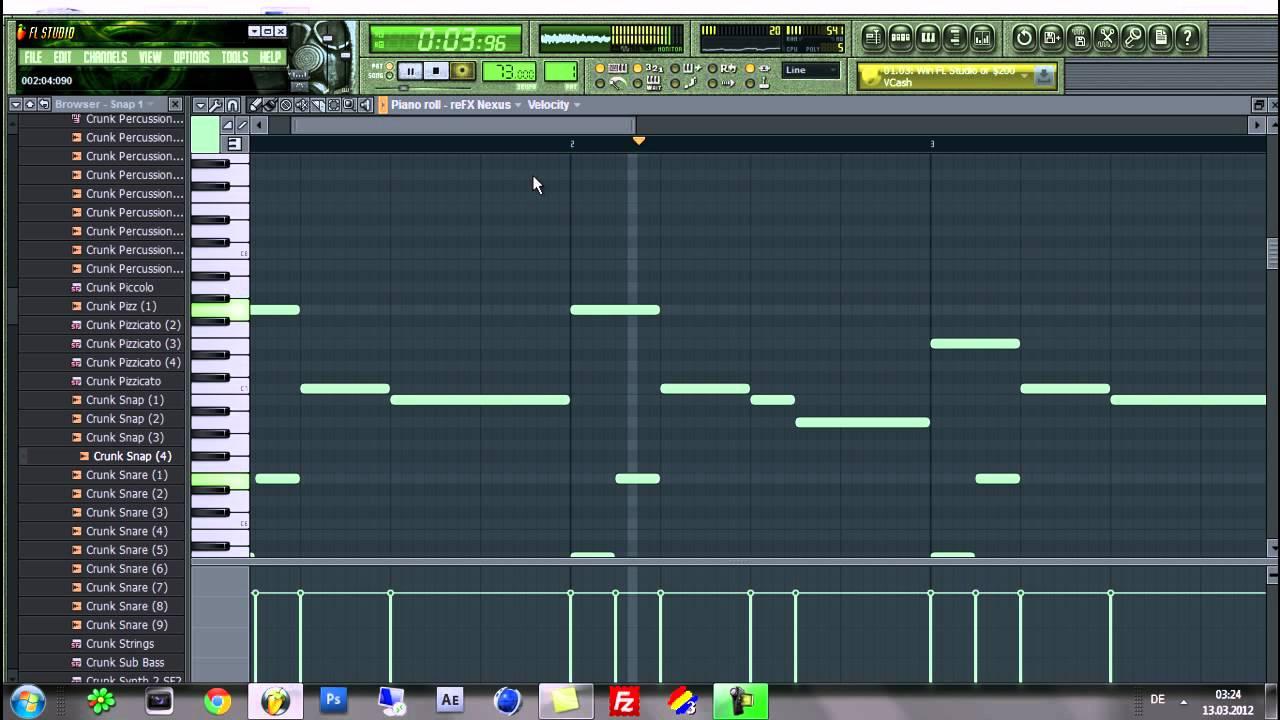 How To Make A Sad Hip Hop Beat [FL STUDIO 10 - Tutorial] HD HQ 2012
