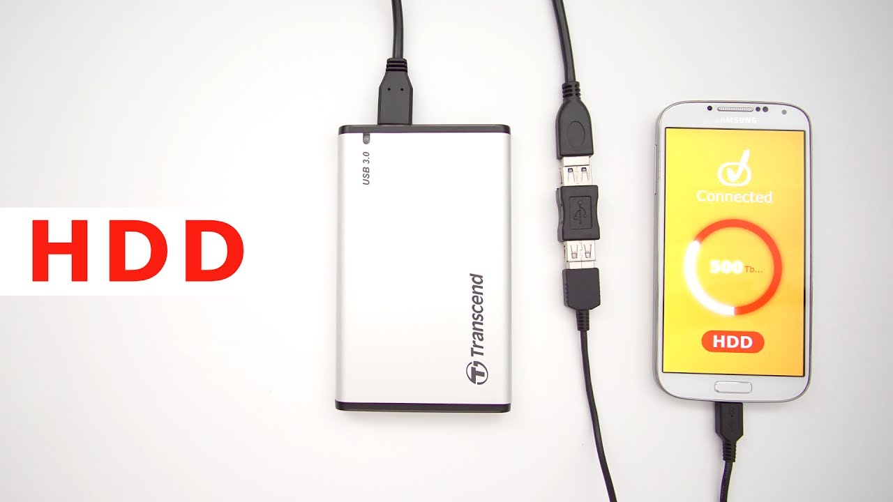 Connect External Hard Drive to Android Smartphone: 7 Steps