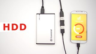 Connect Hard Drive to Android Smartphone