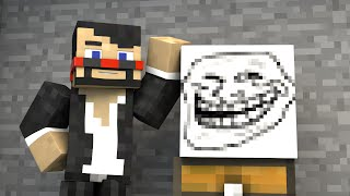 GREATEST TROLL EVER (Minecraft Animation)