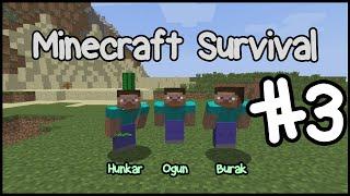 Minecraft Oynuyoruz Bolum 3 Maden