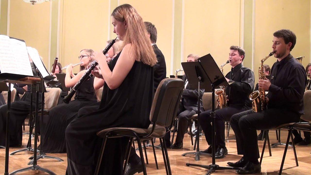 00617 JVLMA Pūtēju orķestra koncerts, 25.10 2015 JVLMA Lielā zālē