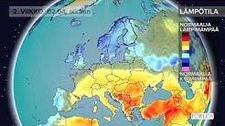 Kuukausiennuste lämpötiloista 27.3.2018: Kylmän pääsiäisen jälkeen sää alkaa vihdoin lämmetä