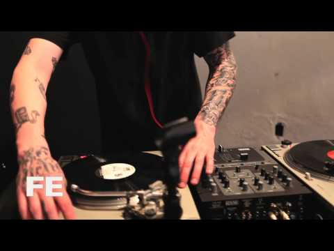 DJ Fundo playing at Record Store Day 2012