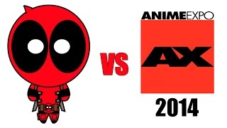 Deadpool vs Anime Expo 2014