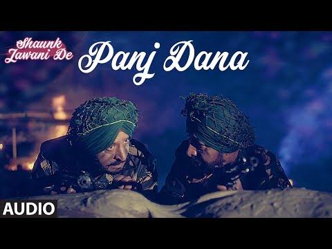 Panj Dana: Hardeep Singh (Punjabi Audio Song) | Shaunk Jawani De | Anu Manu | T-Series