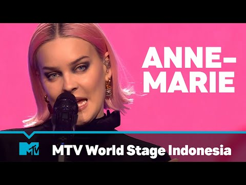 Anne-Marie | FULL LIVE SHOW | MTV World Stage Indonesia