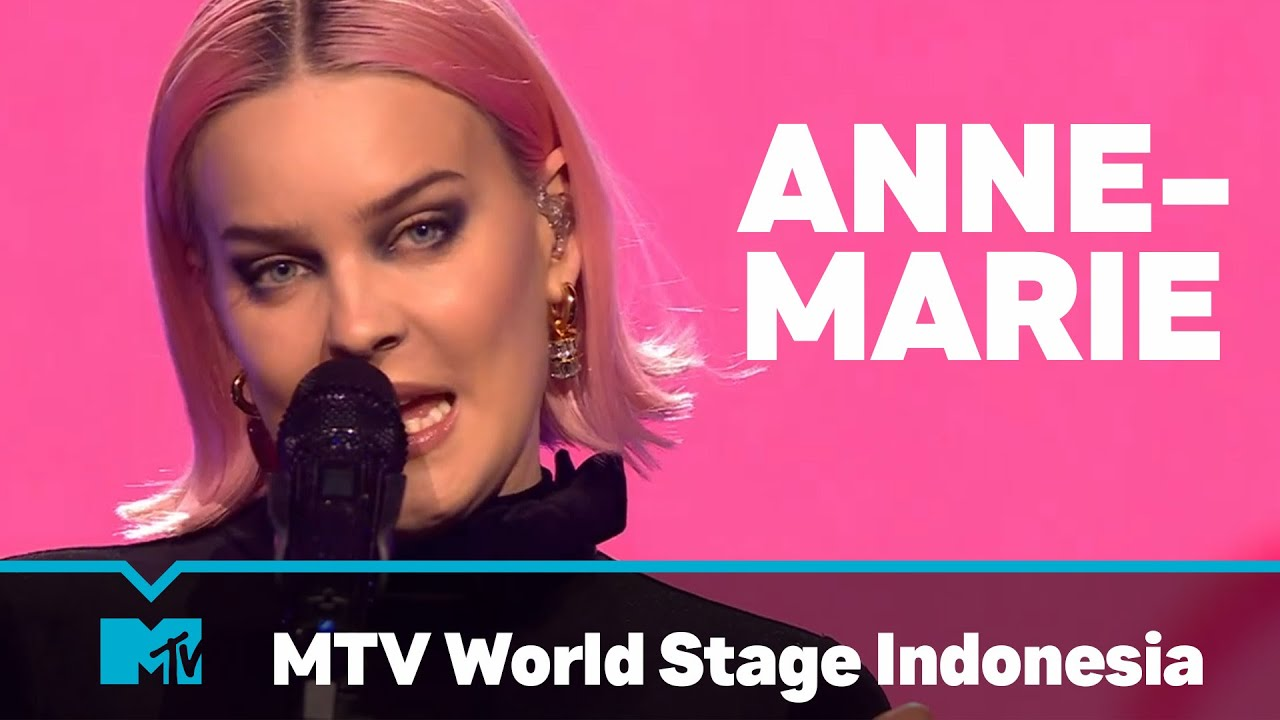 Download Anne-Marie | FULL LIVE SHOW | MTV World Stage Indonesia