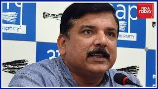 AAP Alleges BJP Conspiracy, Holds Press Conference In Slapgate