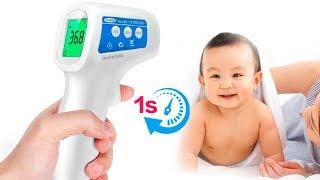 Бесконтактный термометр с Алиэкспресс. Распаковка, обзор, тест