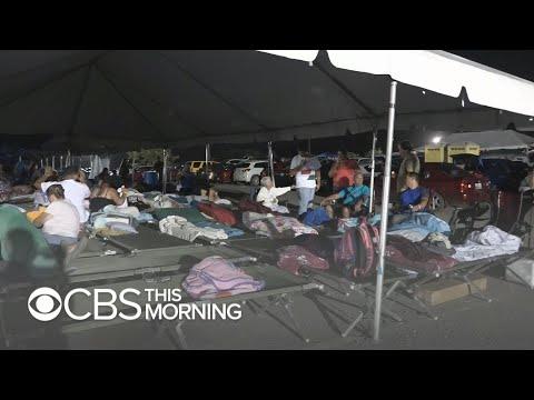 Puerto Ricans sleeping