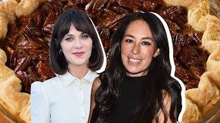Joanna Gaines Vs. Zooey Deschanel: Whose Pecan Pie Is Better?