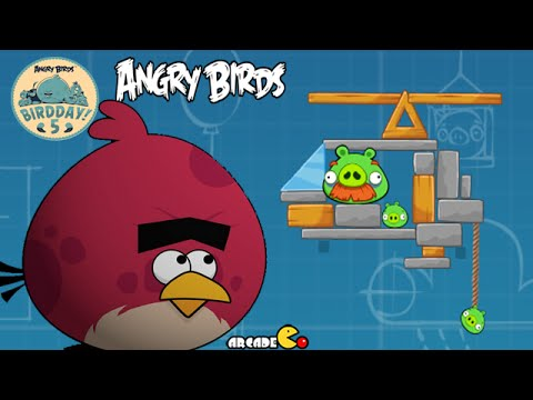 Angry Birds Birdday Level 30-26 Walkthrough 3 Stars from YouTube · Duration:  1 minutes 7 seconds