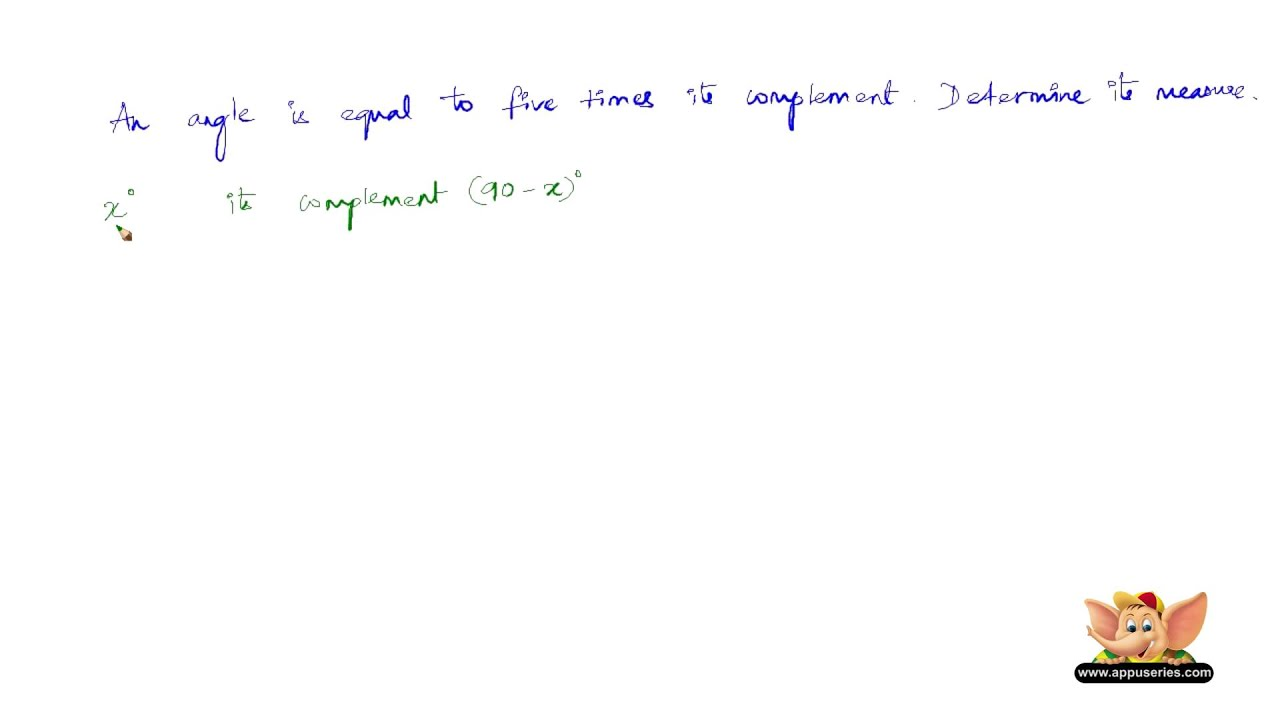 how to solve problems based on complementary angles hard level how to solve problems based on complementary angles hard level set 2 2