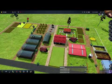 Farm Manager 2018 | #2 | Building a farm is hard work | (Live stream from Twitch)