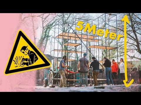 Monster Klettergerüst bauen | Outdoor Spielplatz im Kliemannsland