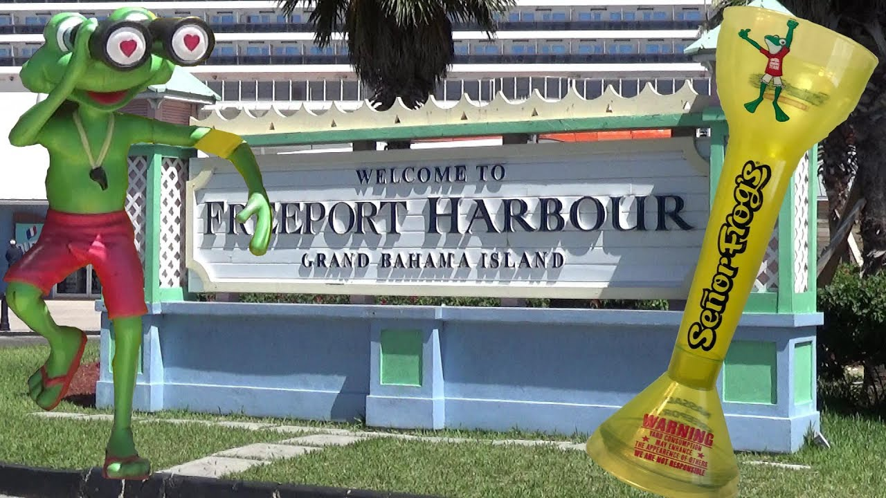 map of freeport bahamas cruise port Freeport Bahamas Cruise Port Area Tour Youtube map of freeport bahamas cruise port
