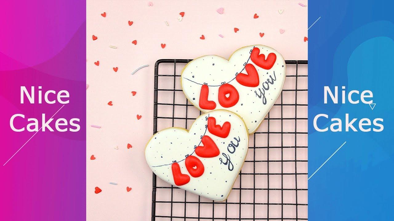 Amazing Heart Cookies #Yumupcakes