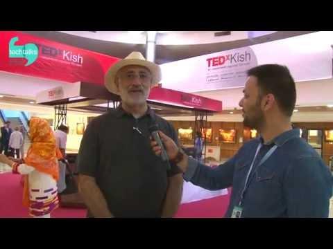 Pre-TEDx interview with Freidon Korangy, Kish, Iran