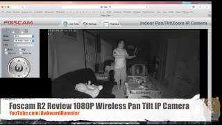 Foscam R2 Review 1080P Wireless Pan Tilt IP Camera