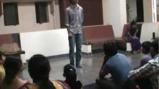 Hallelujah Song by Anubhav Srivastava on the Saraswati Puja Evening 2013