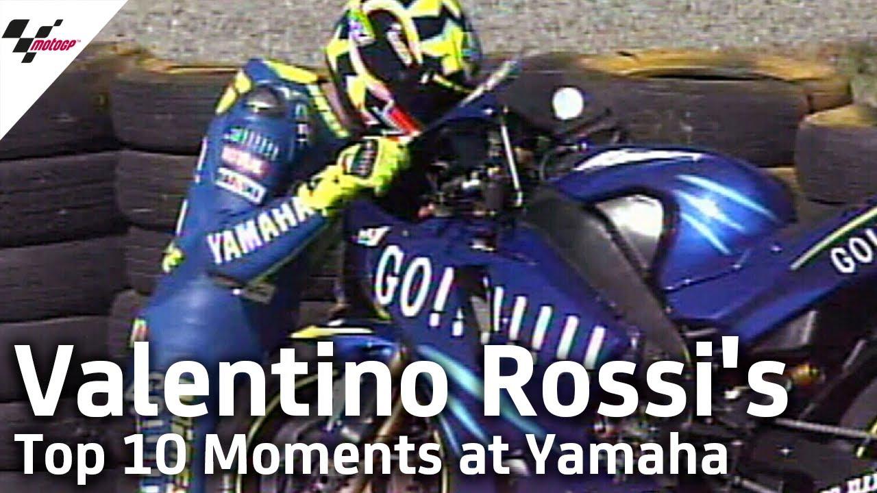 Download Valentino Rossi's Top 10 Moments at Yamaha Factory Racing